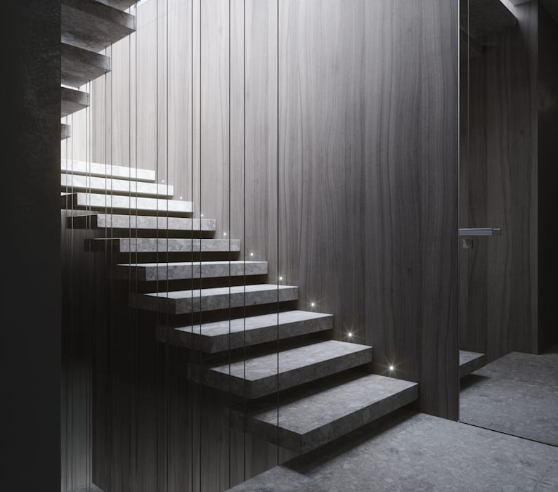 Stairs by ANARCHY DESIGN, Minimalist