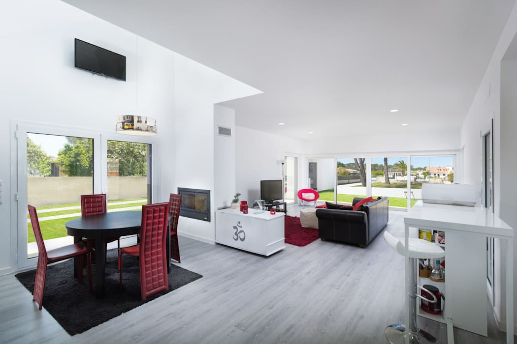 Pedro Brás - Fotógrafo de Interiores e Arquitectura | Hotelaria | Alojamento Local | Imobiliárias Ruang Keluarga Modern