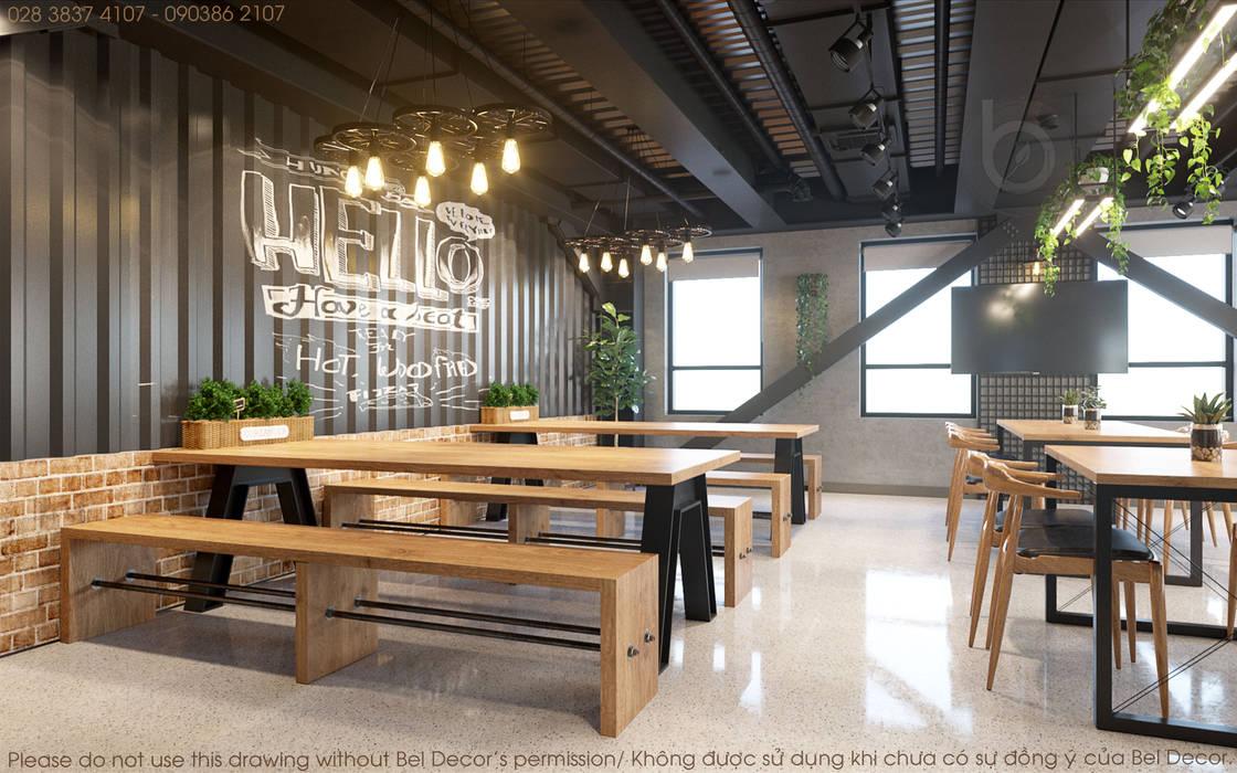 Thiết kế nội thất văn phòng OF1717 bởi Bel Decor