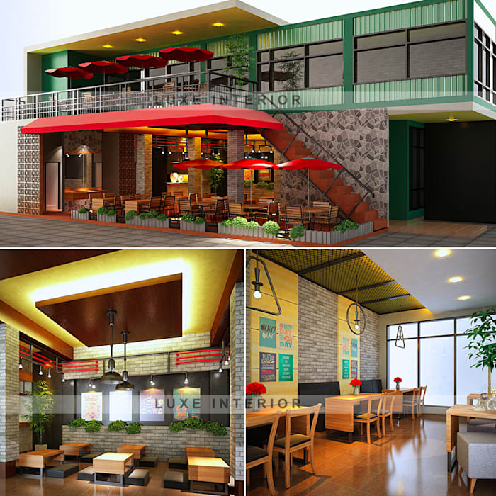 Cafe:  oleh luxe interior ,