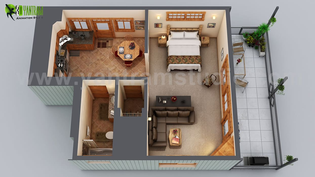 Small House Floor Plan Design Ideas By
