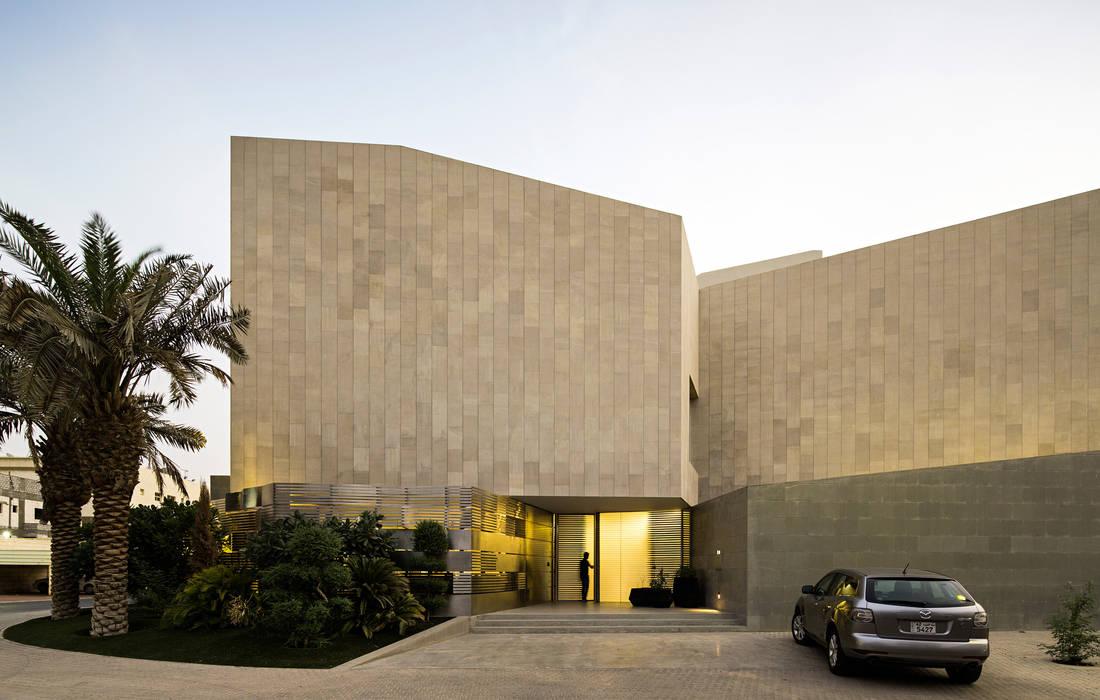 AGi architects arquitectos y diseñadores en Madrid Casas modernas Concreto reforzado Beige