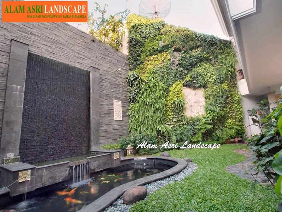 Jasa Pembuat Kolam Koi Surabaya Oleh Alam Asri Landscape Minimalis Batu Bata