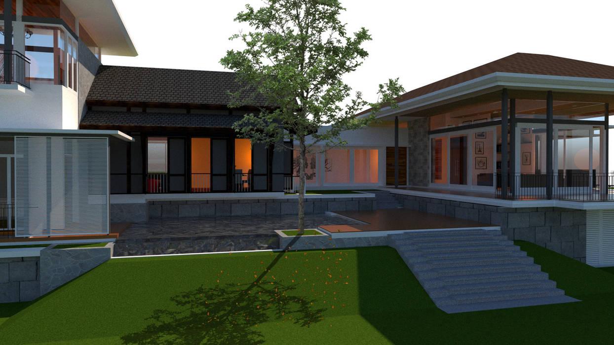 Nilai Spring Bungalow:  Houses by LI A'ALAF ARCHITECT