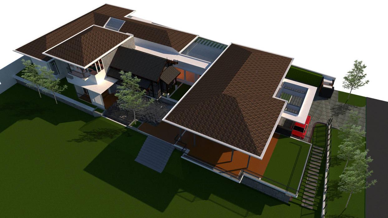 Nilai Spring Bungalow Modern houses by LI A'ALAF ARCHITECT Modern