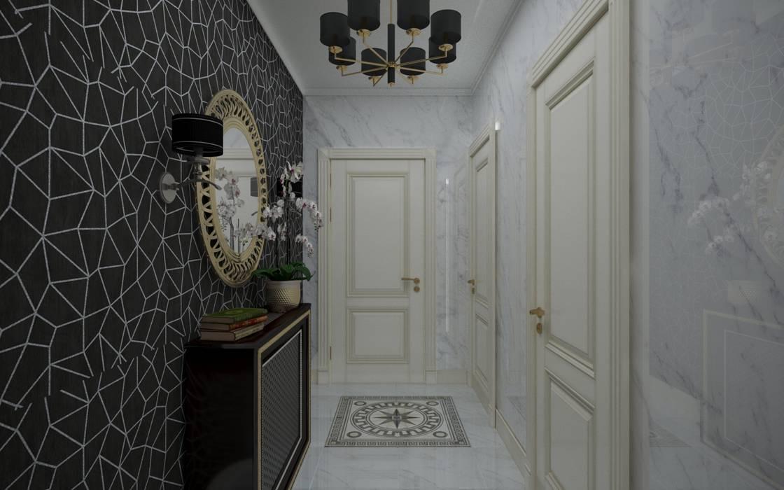Арт деко в частном доме: двери в . Автор – ХаТа - design, Классический