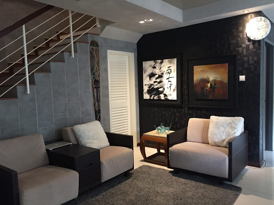 LI A'ALAF ARCHITECT Ruang Keluarga Modern