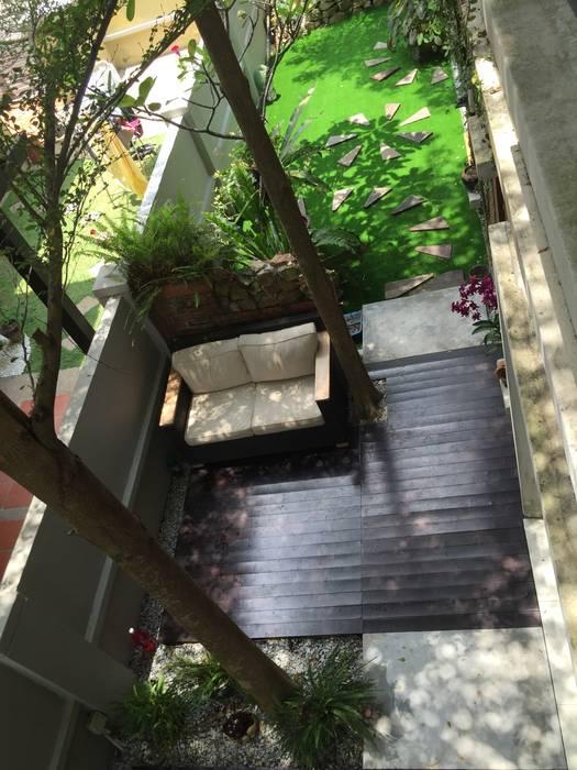 LI A'ALAF ARCHITECT Modern Garden