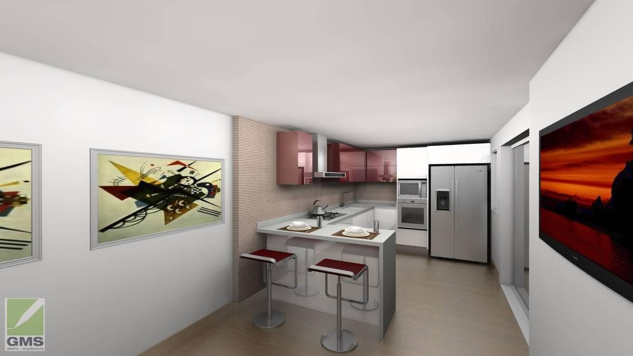 Erick Becerra Arquitecto Dapur Modern