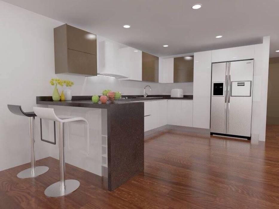Erick Becerra Arquitecto Moderne Küchen