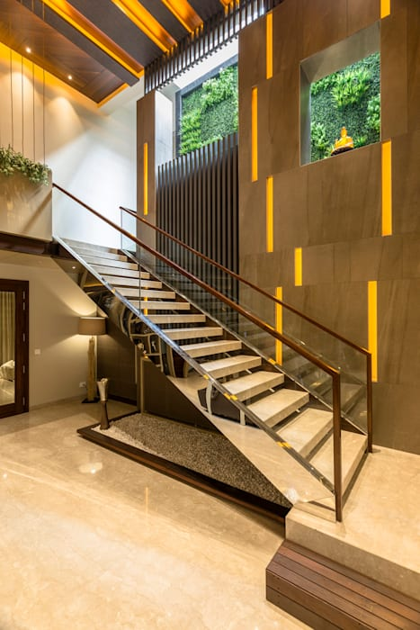 The Staircase by Planet Design & Associates Modern