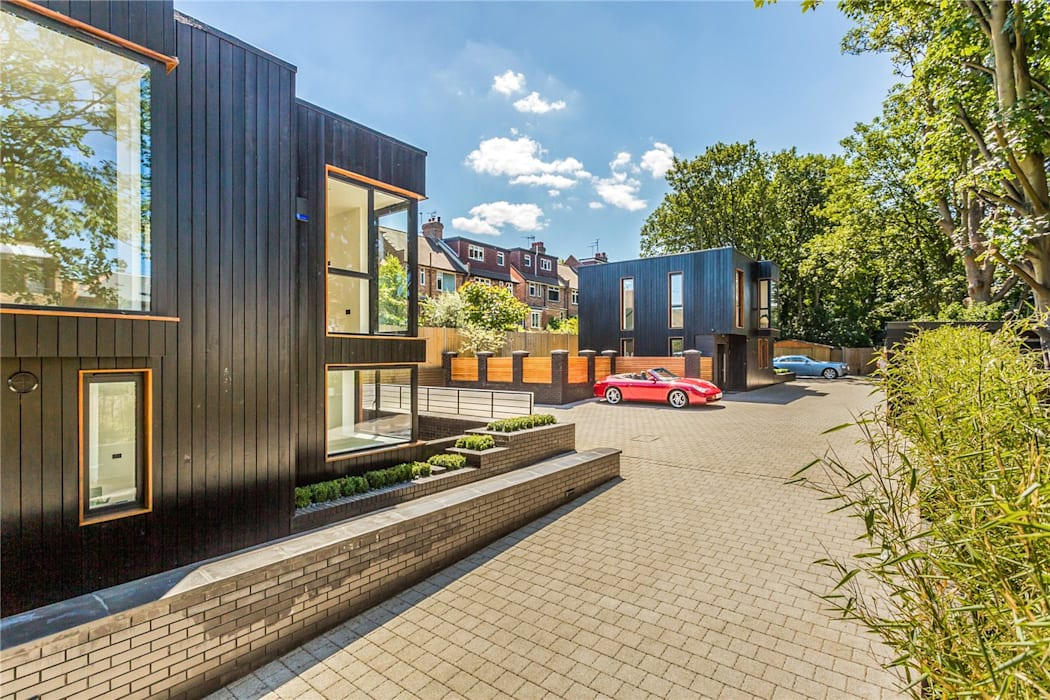 Darcies Mews Modern houses by The Crawford Partnership Modern