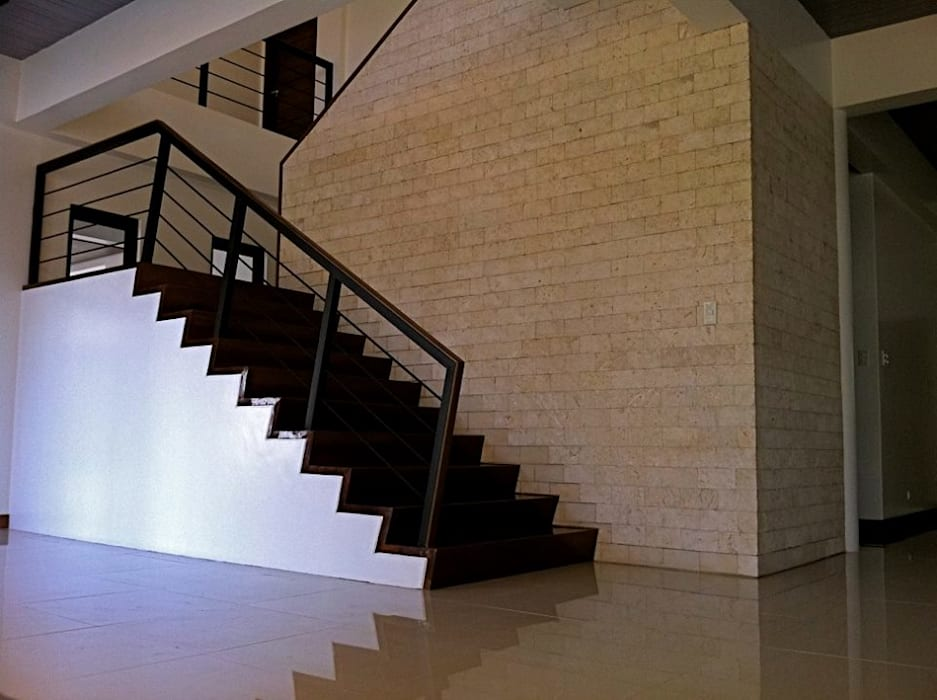 Stairs by homify, Minimalist