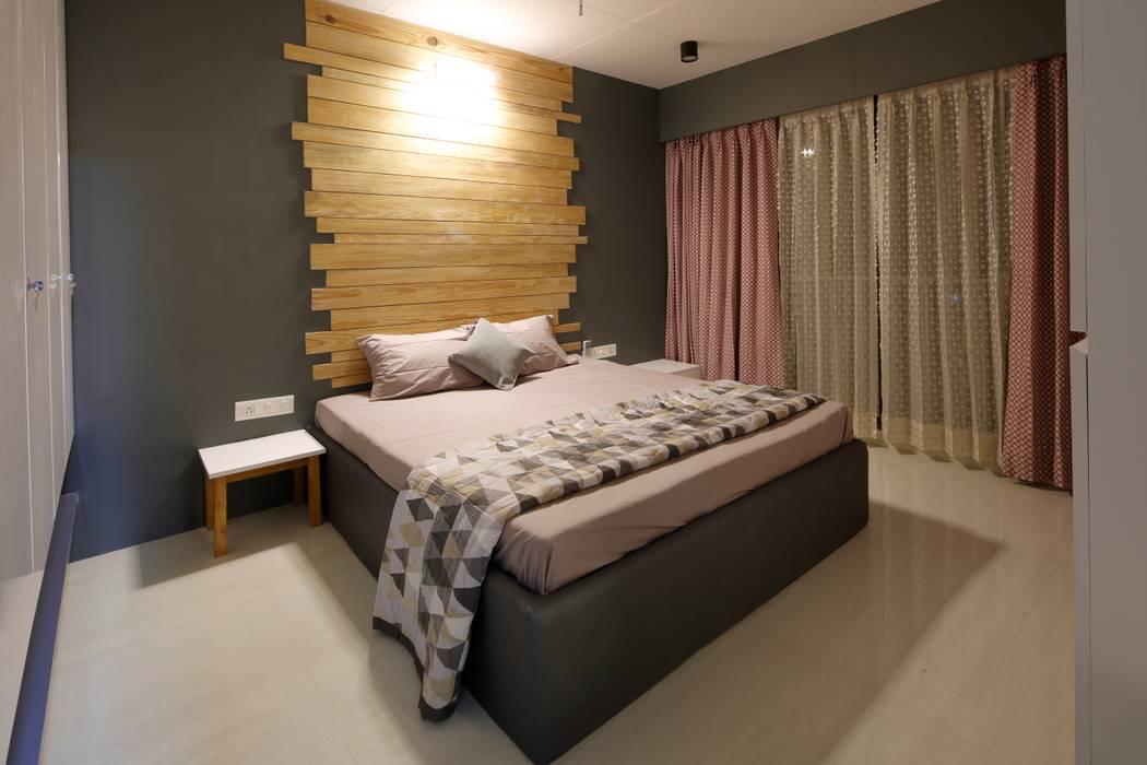 Bedroom Modern style bedroom by malvigajjar Modern Wood Wood effect
