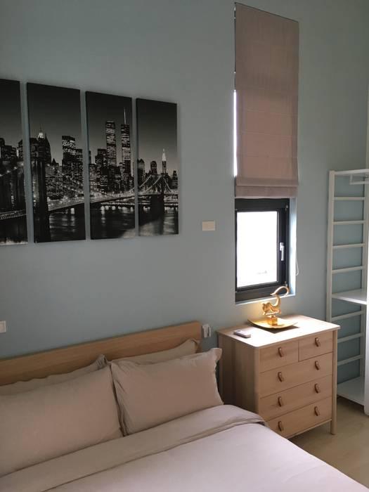 台北市溫馨北歐風14坪套房小宅 根據 G.T. DESIGN 大楨室內裝修有限公司 北歐風