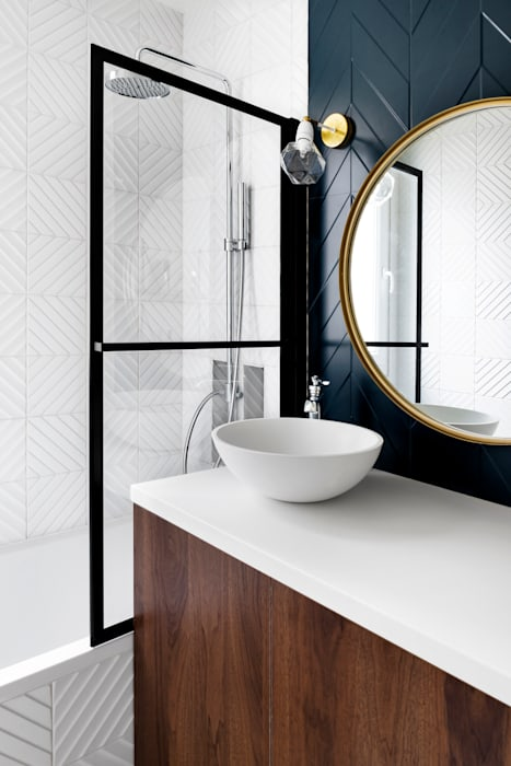 Salle de bain art déco salle de bain originale par ld&co ...