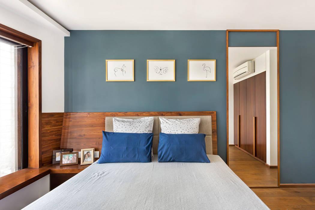 Open House: industrial Bedroom by Studio Nishita Kamdar