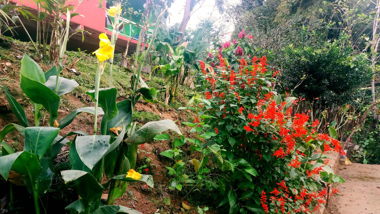 Zen garden by Oria Arquitetura & Construções,