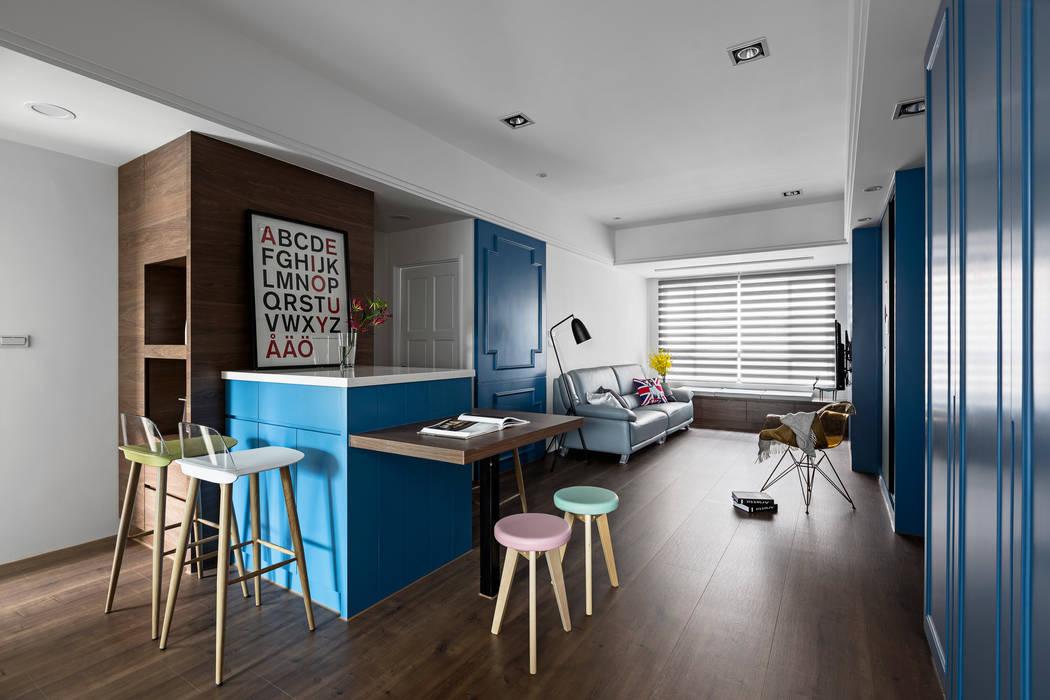 Kitchen by 京彩室內設計裝修工程公司, Modern