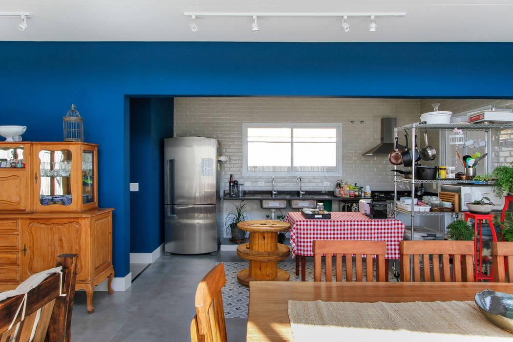 Cozinha aberta Cozinhas industriais por Otoni Arquitetura Industrial
