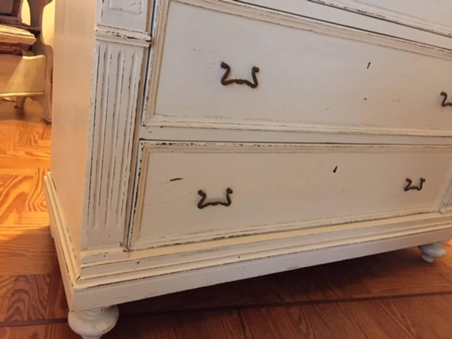 Reciclaje de Cómoda:  de estilo  por ANADECO - Decoradora y Diseñadora de Interiores - La Plata