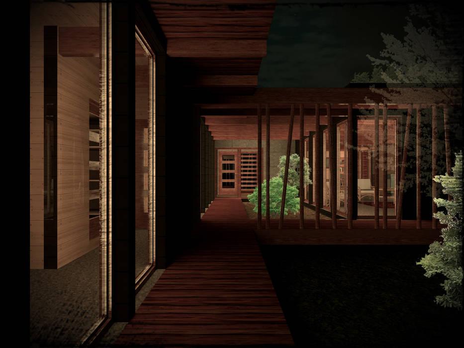 Prefabricated home by Vicente Espinoza M. - Arquitecto ,