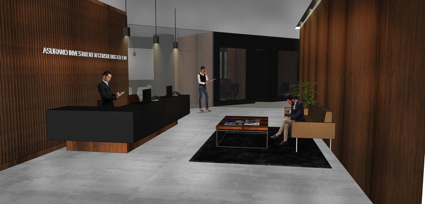 Офисные помещения в . Автор – RSDS Architects, Модерн