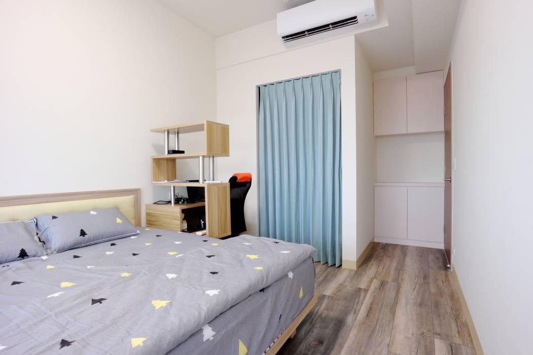 北歐務實派的簡約居家 青築制作 臥室