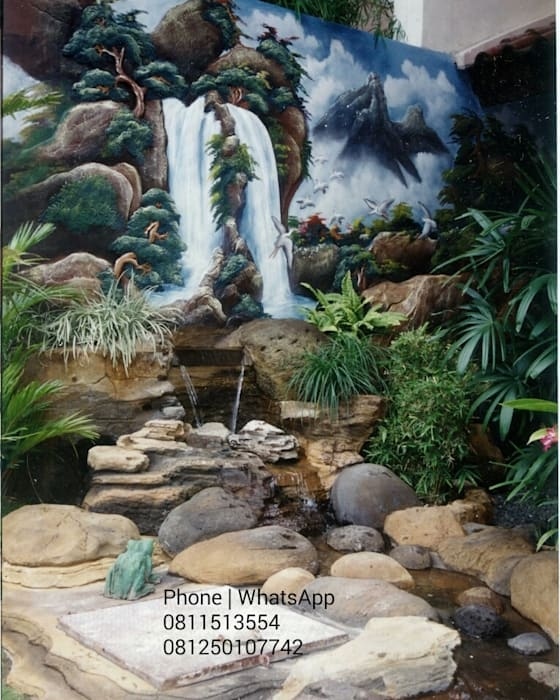 TAMAN RELIEF DAN DEKORASI Part I TUKANG TAMAN SURABAYA - jasataman.co.id Garden Plants & flowers Multicolored
