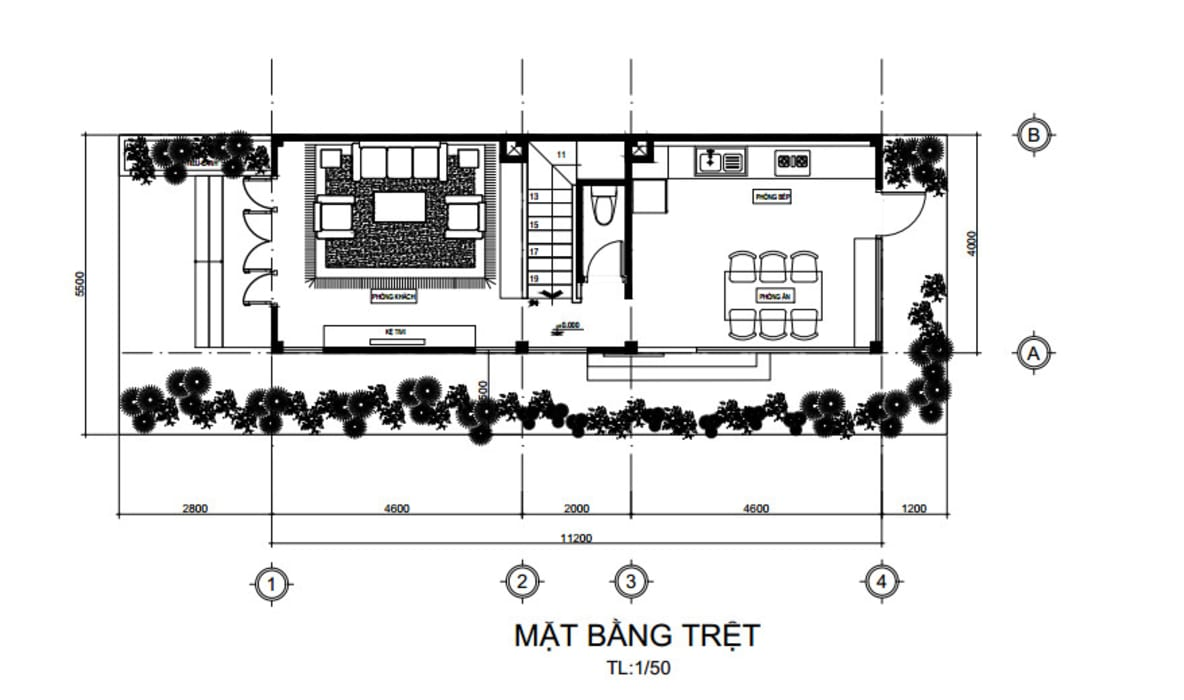 Tòa nhà văn phòng by Công ty thiết kế xây dựng Song Phát