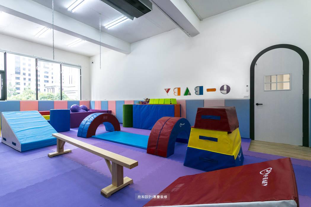 【童‧真】:  學校 by 欣和室內規劃設計有限公司, 北歐風
