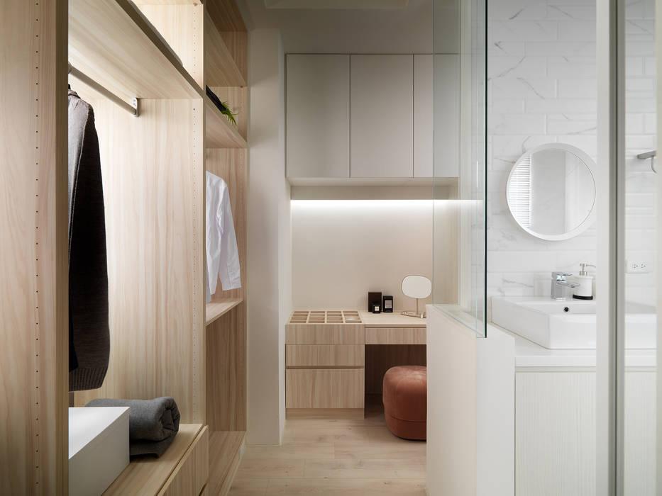 Dressing room by 寓子設計, Scandinavian