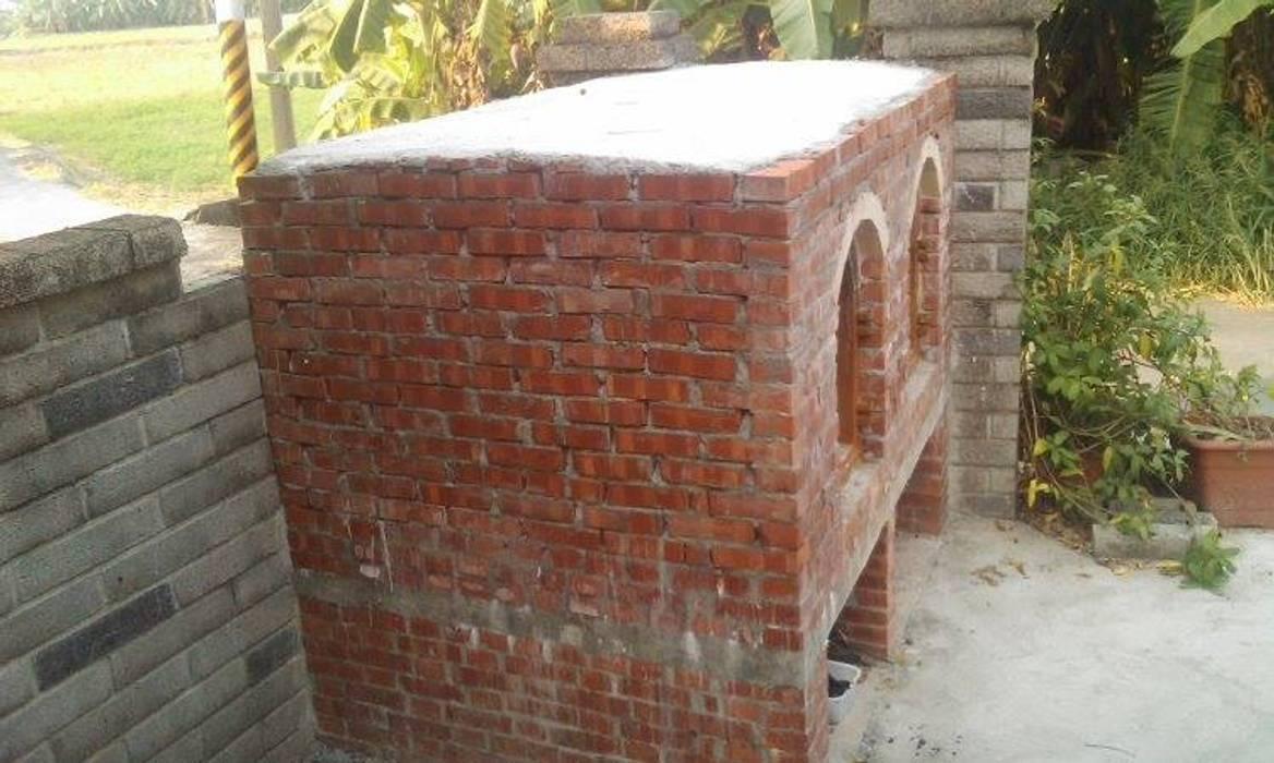 披薩窯完工 根據 安居住宅有限公司 鄉村風 磚塊