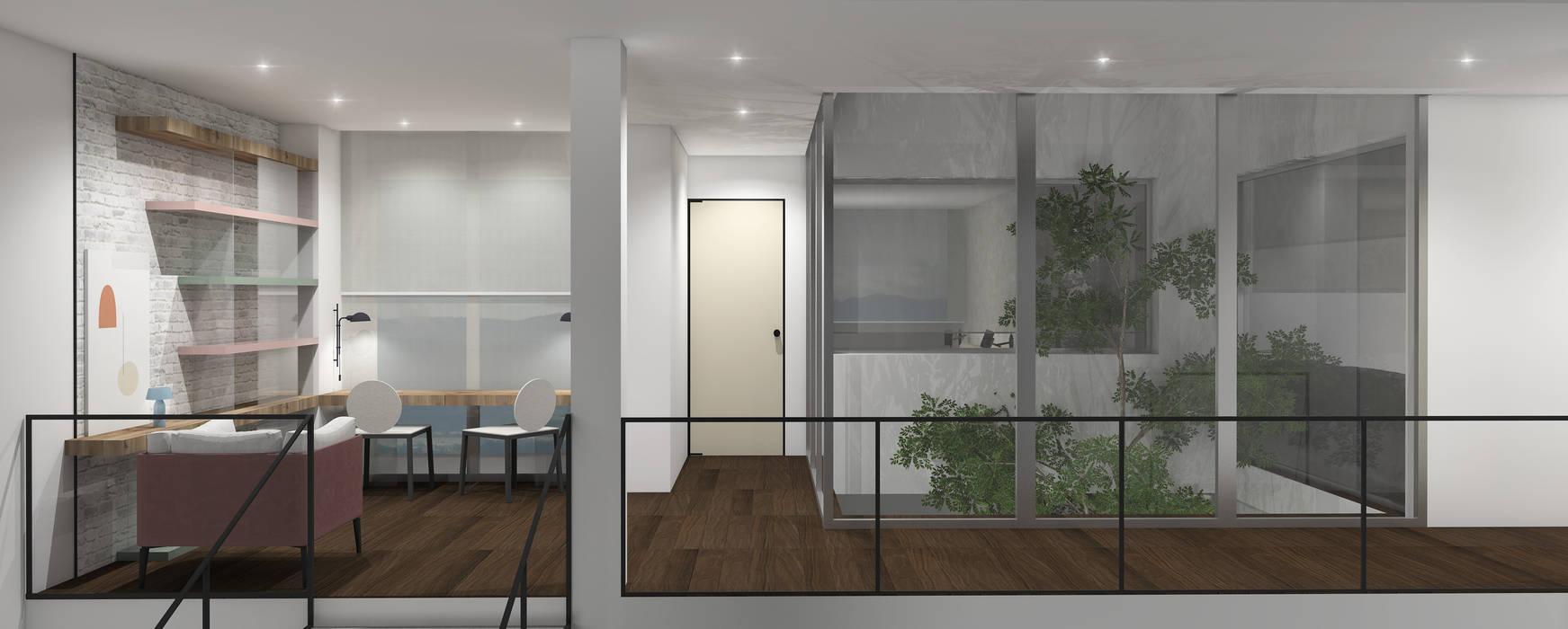 : Salas / recibidores de estilo  por Design Group Latinamerica, Ecléctico
