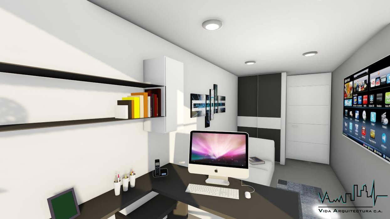 Remodelacion y diseño interior para apartamento: Muebles de cocinas de estilo  por Vida Arquitectura, Moderno