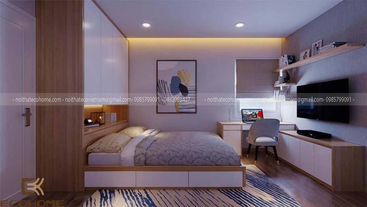 Phòng ngủ master:   by Công Ty TNHH Xây Dựng & Nội Thất ECO Việt Nam