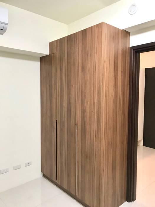 Bedroom by 圓方空間設計, Minimalist Plywood