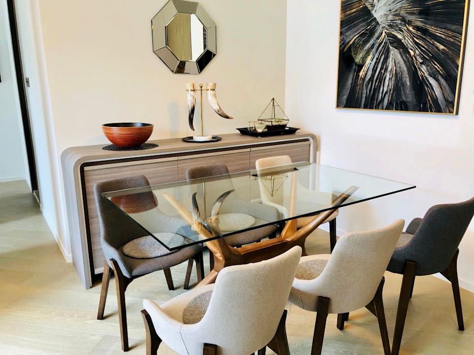 Mount Pavilia 傲瀧   Clear Water Bay 西貢清水灣   Hong Kong:  Dining room by Nelson W Design