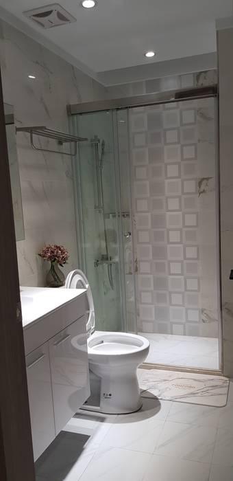 2樓浴室完工 根據 懷謙建設有限公司
