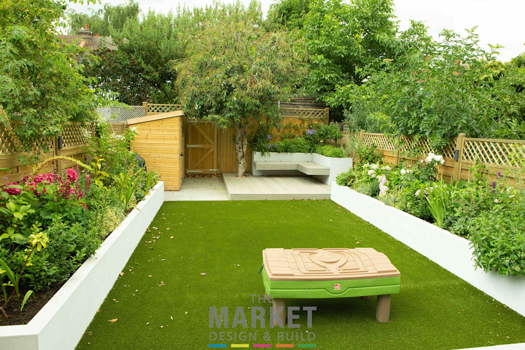 Rear Extension in Ealing Modern garden by The Market Design & Build Modern