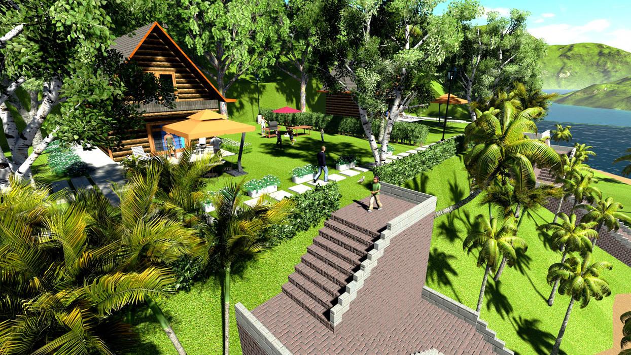 Front yard by Bengkel Tanaman,