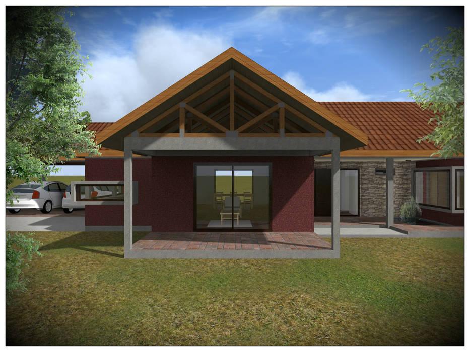 Vivienda Unifamiliar Rural Vicente Espinoza M. - Arquitecto Casas de estilo rural