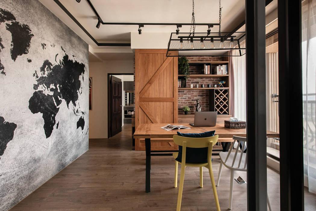 اتاق غذاخوری by 澄月室內設計