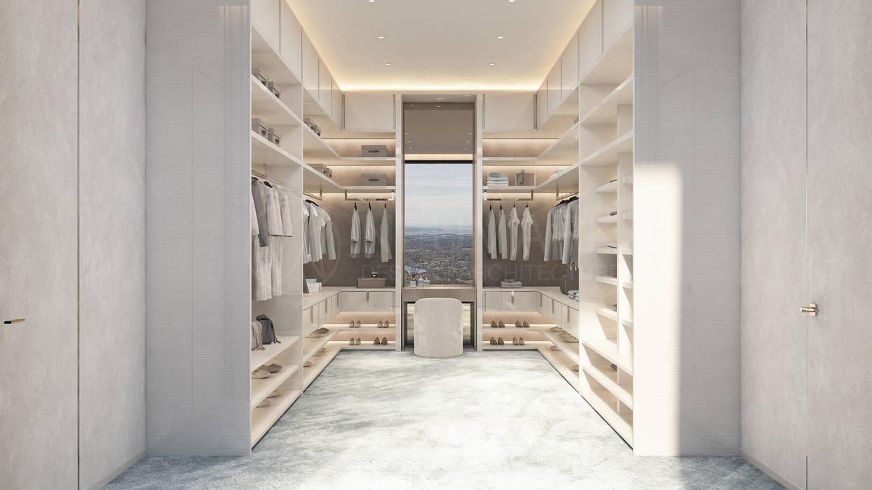 Minimalist dressing room by NEUMARK Minimalist