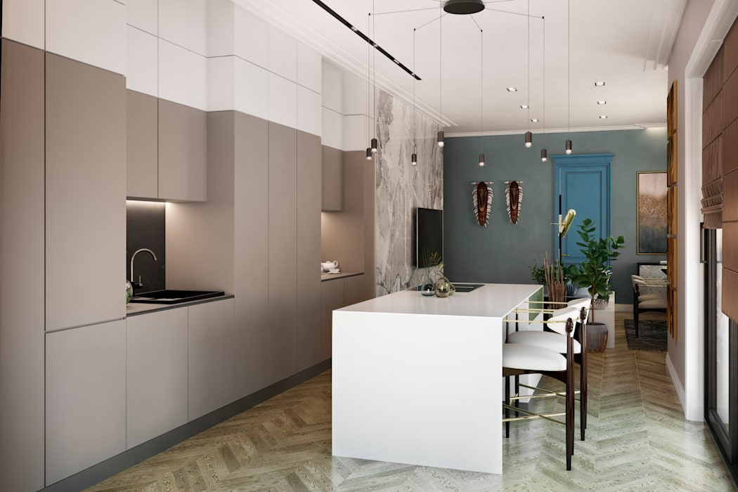 FISHEYE Architecture & Design 置入式廚房