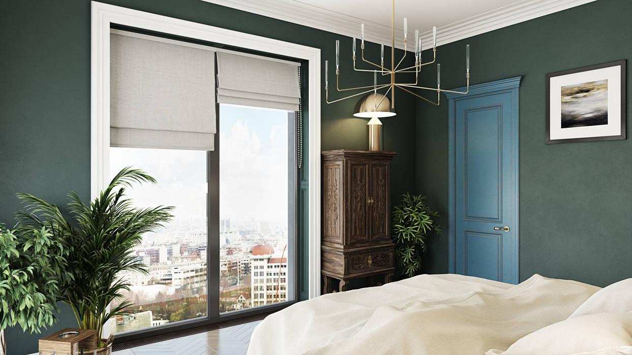 Dormitorios eclécticos de FISHEYE Architecture & Design Ecléctico