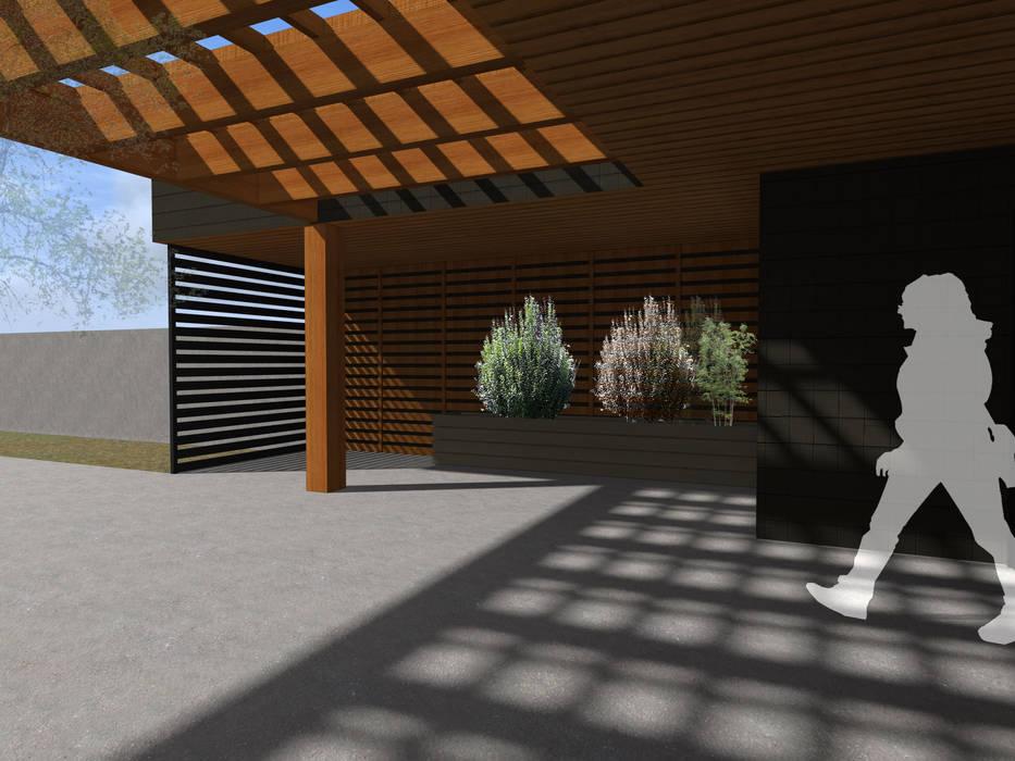 REMODELACION VIVIENDA URBANA: Casas unifamiliares de estilo  por Vicente Espinoza M. - Arquitecto