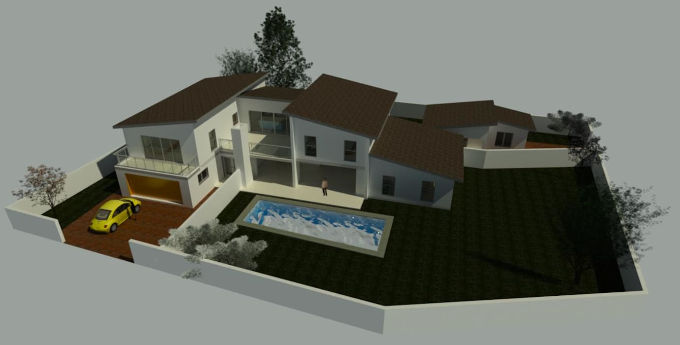 Limpopo Project:  Single family home by KGOBISA PROJECTS, Modern