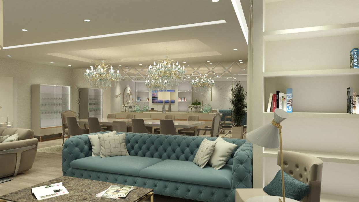 Salas de estilo clásico de Glim - Design de Interiores Clásico