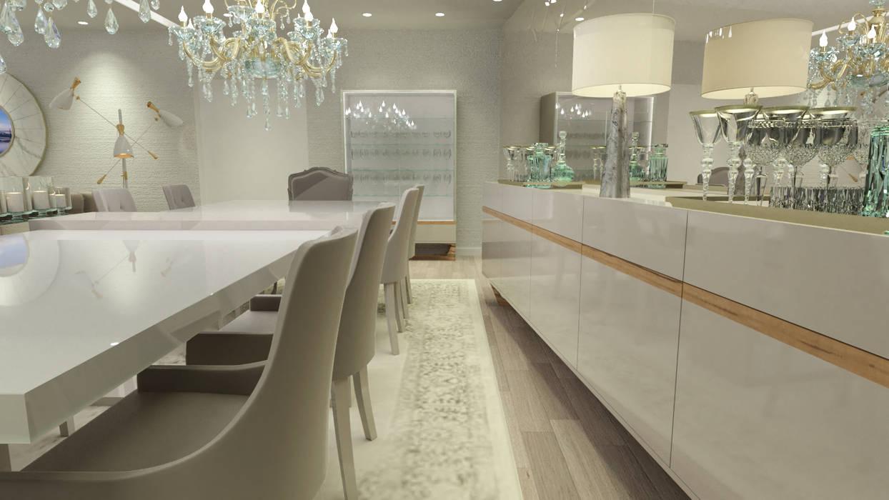 Comedores de estilo clásico de Glim - Design de Interiores Clásico